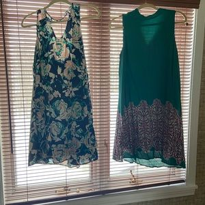 TWO Pinkblush Maternity Dresses Size S